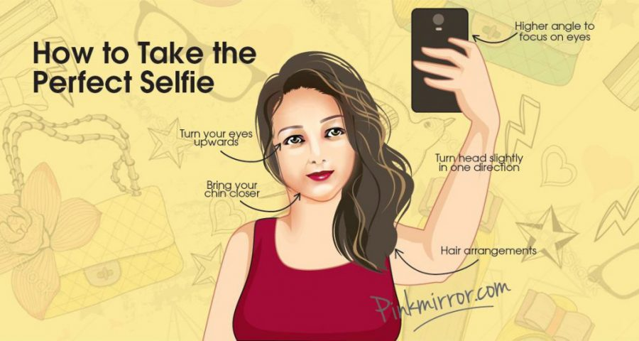 """How to take the perfect selfie"" instructions"