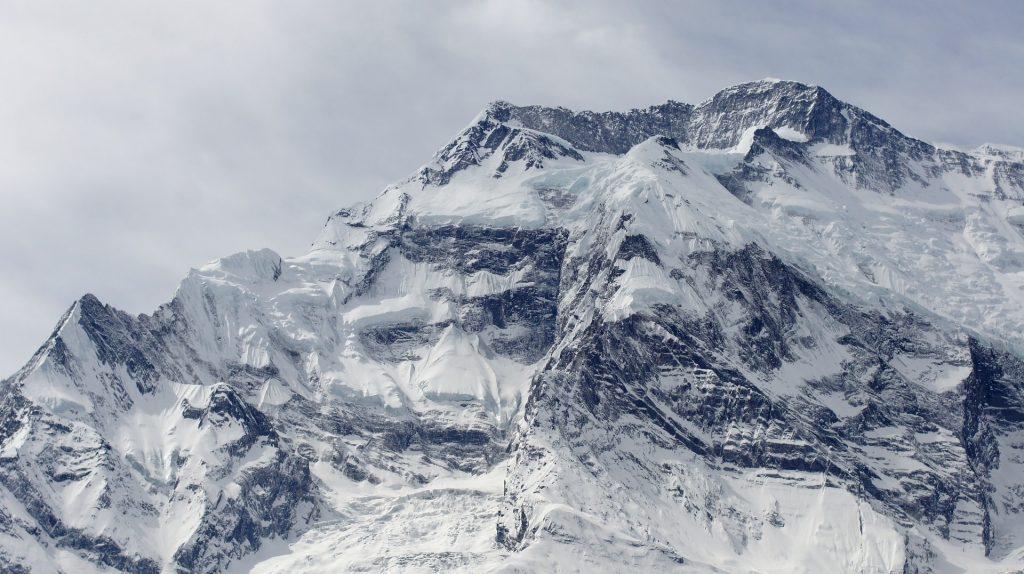 Snowed mountain