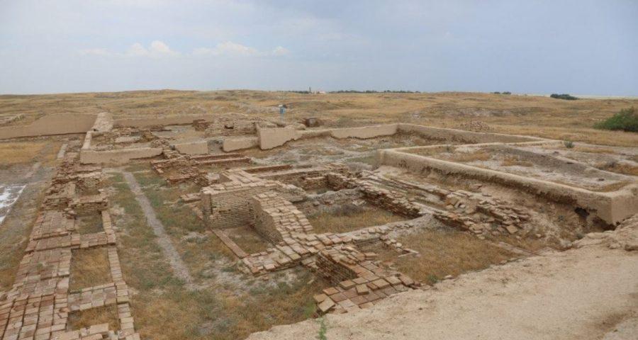 Otrar landscape nowadays (ghost town)