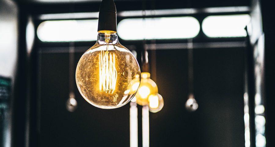 Bulb light on