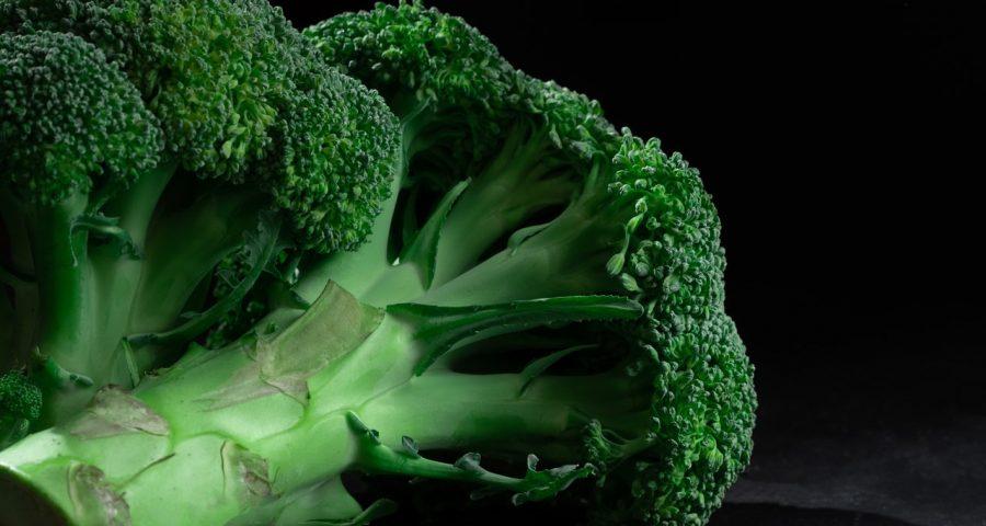Up-close photo of broccoli.